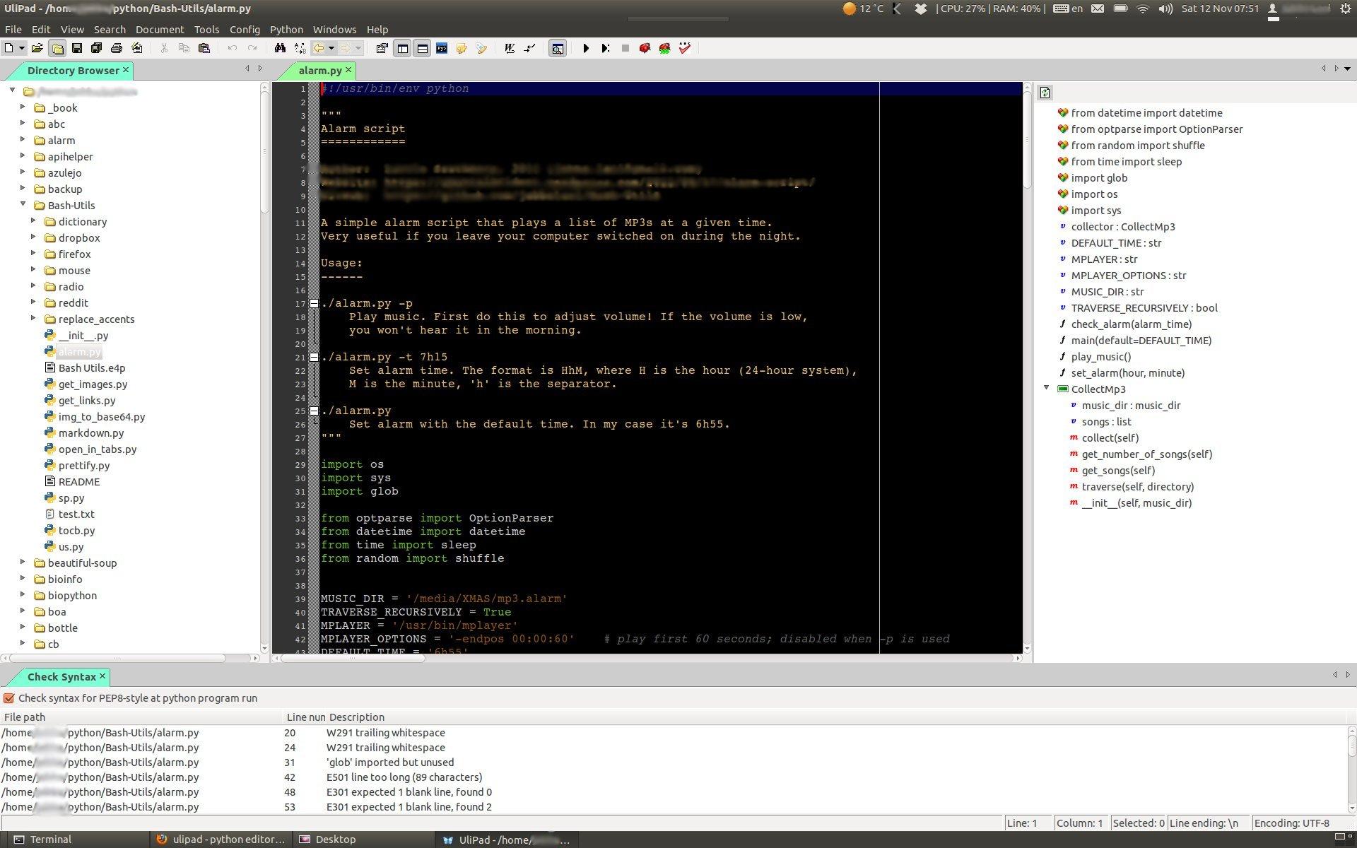 ulipad | Python Adventures