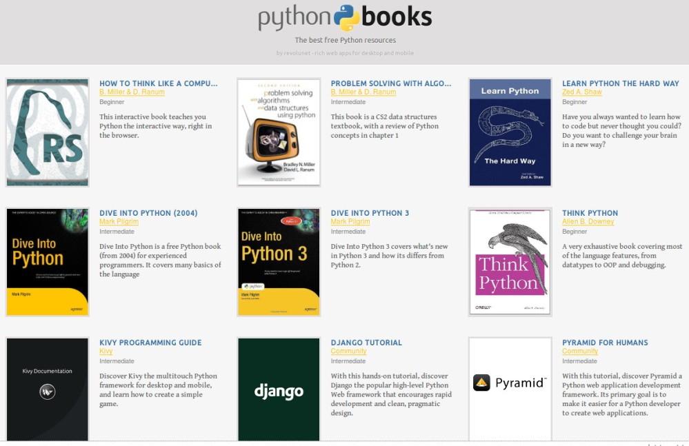 The best free Python resources
